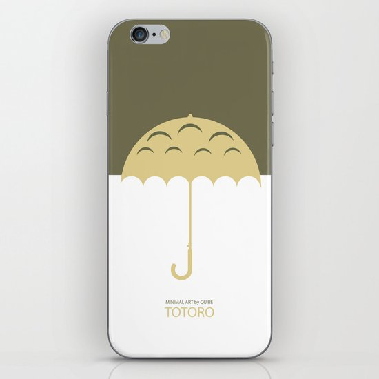 Minimal Totoro iPhone & iPod Skin