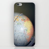 Vintage Globe iPhone & iPod Skin