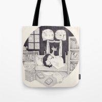 Neil Gaiman Tote Bag