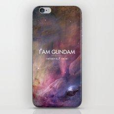 Gundam Retro Space 2 iPhone & iPod Skin