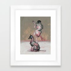 Coal Miner's Daughter. Framed Art Print