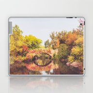 Laptop & iPad Skin featuring New York City Autumn Bri… by Vivienne Gucwa