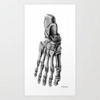 Foot 2 Art Print