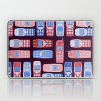 Vintage Cellphone Reactions Laptop & iPad Skin