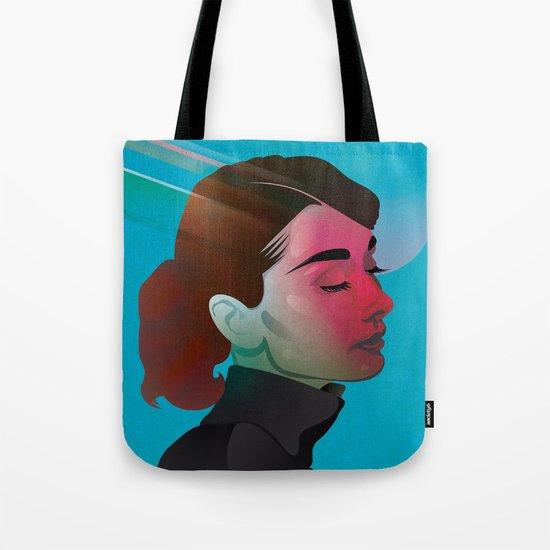 Classy- Audrey Hepburn Tote Bag