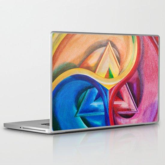 Primary triangle Laptop & iPad Skin