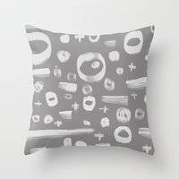 On And On Throw Pillow