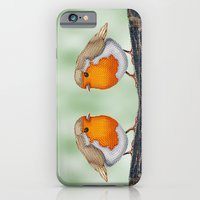 Knitted Robin iPhone 6 Slim Case