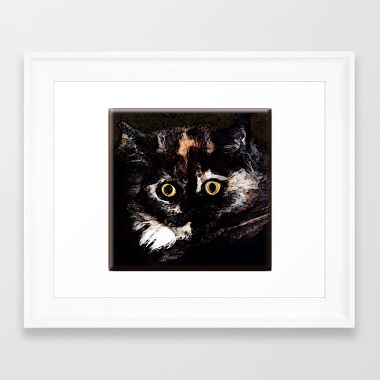 Persian Princess Framed Art Print