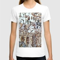Tivili Gardens Womens Fitted Tee White SMALL