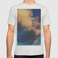 Visible Mass Mens Fitted Tee Silver SMALL