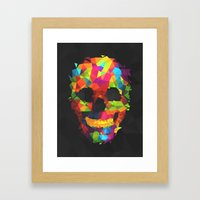 Meduzzle: Colorful Geome… Framed Art Print