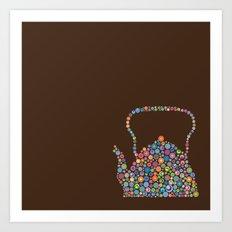teapot / tetera Art Print