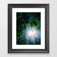 Blessed Spring Morning Framed Art Print