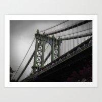 New York in 20 pics - Pic 4. Art Print