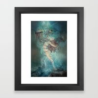 Dione Framed Art Print