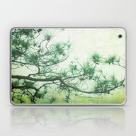 Laptop & iPad Skin featuring Winter Pine by Bella Blue Photograp…