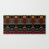 Fairisle of Morder Canvas Print