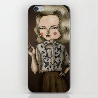 Betty Draper (Mad men) iPhone & iPod Skin