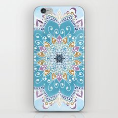 MAGIC FLOWER MANDALA iPhone & iPod Skin