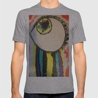 Eye Heart You Mens Fitted Tee Athletic Grey SMALL