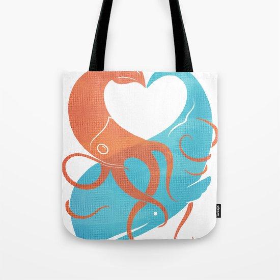 Hug It Out Tote Bag