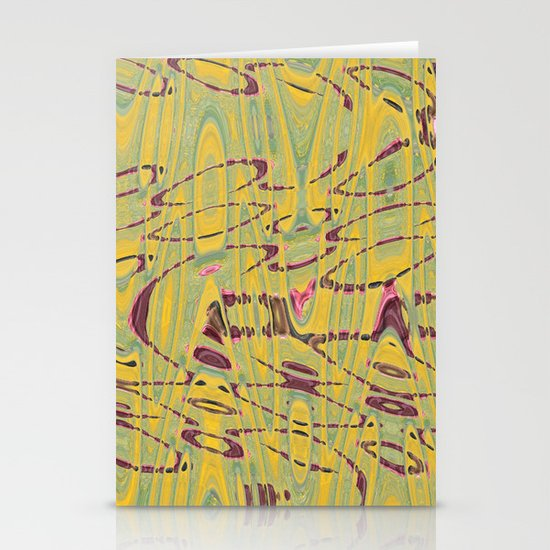 Floral Field Stationery Card