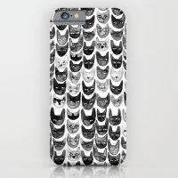 Black & Gray Cats iPhone 6 Slim Case