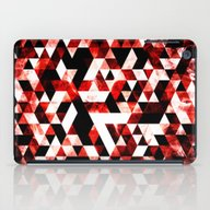 Triangle Geometric Vibra… iPad Case