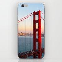 Golden Gate Bridge - San Francisco iPhone & iPod Skin