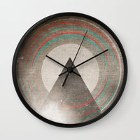 Stereo Induction Wall Clock