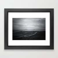 The World On Your Should… Framed Art Print