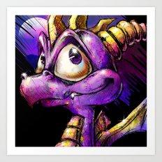 Spyro the Dragon Art Print