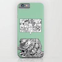 iPhone & iPod Case featuring the man the monster by Chris Brake