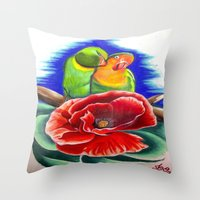 SOULMATES Throw Pillow