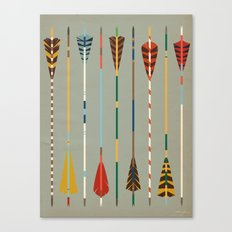 Vintage Arrows Canvas Print