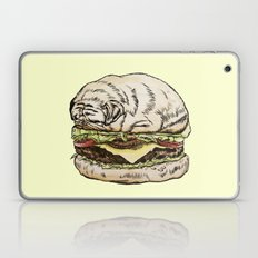 Pug Burger Laptop & iPad Skin