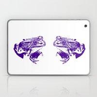 purple frog II Laptop & iPad Skin