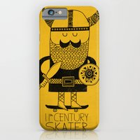 iPhone & iPod Case featuring 11th Century Skater by Farnell