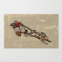 The Nut Express Canvas Print