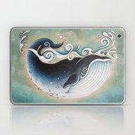 The Blue Whale Laptop & iPad Skin