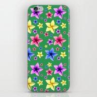 Flower Crazy iPhone & iPod Skin