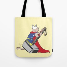 The Catty Thor Tote Bag