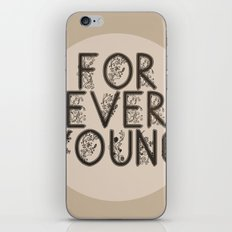 ∞ YOUNG iPhone & iPod Skin