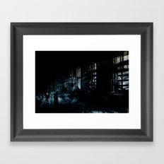 Ghost Building Framed Art Print