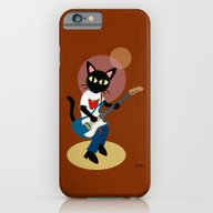 iPhone & iPod Case featuring Guitarist Whim by BATKEI