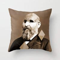 Weird Throw Pillow