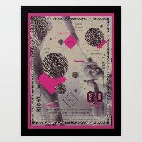 SHUTTLE 00 Art Print