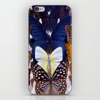Farfalle II iPhone & iPod Skin