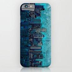 boston city skyline iPhone 6 Slim Case